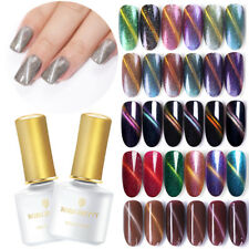 BORN PRETTY 6ml Semipermanenti Smalto Gel UV Magnetico Nail Art UV Gel Polish