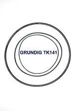 COURROIES SET GRUNDIG TK141 MAGNETOPHONE A BANDE EXTRA FORT NEUF FABRIQUE TK 141