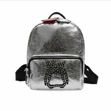 Korean Casual Rivet Design Backpacks - Silver (EFG070606)