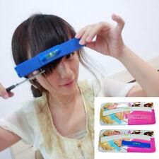 DIY 1Set  Professional Bangs Hair Cutting Clip Hairstyle Trim Ruler Tool Nice