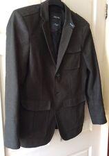 "Method Of London, Italian Wool Jacket, Brown, 40"" Chest"