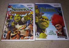 New Shrek Forever After Final+ Carnival Craze Party Games  (Nintendo Wii, 2008)