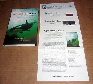 Signed PACIFIC OCEAN KILLER WHALES ORCA SPRINGER LUNA ENVIRONMENTAL Puget Sound