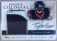 2016 National Treasures Rookie Colossal TYLER ERVIN Patch OC AUTO 88/99 Texans