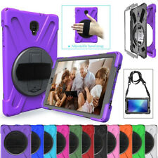 """For Samsung Tab S2 S3 8"""" 9.7 Armor Case Hybrid Rubber Shoulder Strap Stand Cover"""