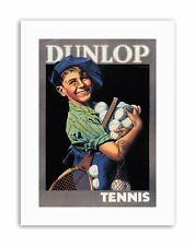 Commercial PALLINE DA TENNIS DUNLOP IN GOMMA UK Sport Tela art prints