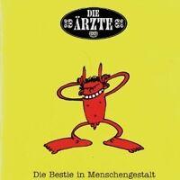 """DIE ÄRZTE """"DIE BESTIE IN MENSCHENGESTALT"""" CD NEUWARE!"""