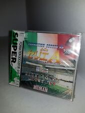 NEW Factory Sealed FORMATION SOCCER 95 DELLA SERI A game for PC Engine CD Rom B3