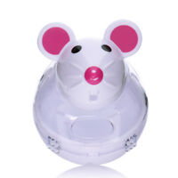 Dog Cat Feeder Toys Food Dispenser Treat Mouse Toy Interactive IQ Training