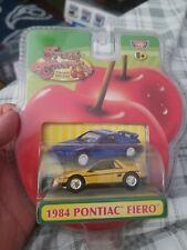 Motor Max Fresh Cherries 1984 Pontiac Fiero Scale 1:64