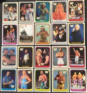 (20) 1991  Merlin Wrestling Lot The Undertaker Rookie Checklist #37 Included WWE