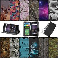 For Samsung Galaxy J3 Emerge | Luna Pro (2017) Wallet Card Stand Case - Camos