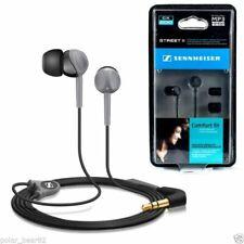 Senheiser CX200 Street II Black Earphones Earbuds Headset USA FreeSHIP