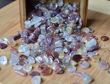 Tumbled Gemstone Natural Crystal Red n Yellow Rutilated Hair Quartz Rare 5g