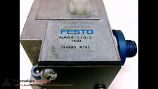 FESTO NASE-1/4-1-ISO WITH ATTACHED PART NUMBER MOUNTING PLATE