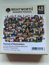 WENTWORTH Wooden Jigsaw Christmas Themed Puzzle-40Pieces Nutcrackers