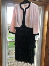Condici Mother of the Bride, Black And Pink Dress, Size 16 Preloved