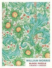 William Morris Block Puzzle by    Hardcover Book   9780764972218   NEW