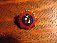 Nisi Dominus Frustra Lapel Pin - Vintage Hospital Auxiliary Past President Pin