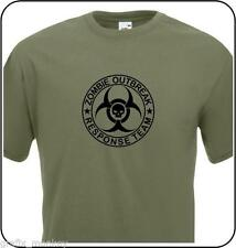 Unbranded Cotton T-Shirts Zombie for Men
