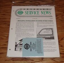 1948 Chevrolet Service News Magazines Complete Year 48 Chevy