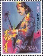 Mongolia 1998 Carlos Santana//Rock Music/Guitar/Music/Musician 1v (n17489)