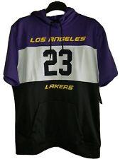 Los Angeles Lakers 100% Authentic  Sleeveless Hoodie #23 Lebron James