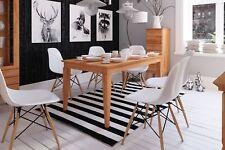 Esstisch Tisch ausziehbar LENNES Wildeiche geölt Natur 160/250x90 cm