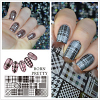 Born Pretty Nail Art Stamping Image Plates Stencil Design Templates  DIY