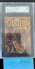 1997-98 Topps Finest Michael Jordan Masters Gold #154. Graded SGC 96 Mint!! 🔥🔥