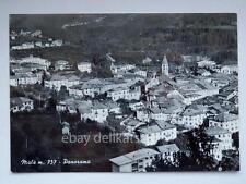 Malè Trento panorama vecchia cartolina