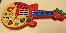 The Wiggles Guitar 2003 Musical Red Toy Tunes Dance Play Along Spin Master