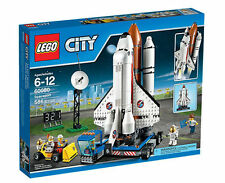LEGO City Nasa Spaceport Space Shuttle 586-Piece Kids Play Building Kit 60080