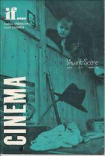 L'Avant-Scène Cinéma N° 119 Novembre 1971 - If L. Anderson M. McDowell D. Wood