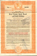 1926 Chicago Illinois real estate gold bond > Lawn Manor Apartments construction