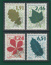 FRANCE 1994  PREOBLITERES N°232/235**, Les feuilles d'arbres, TTB, MNH
