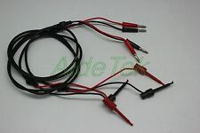 Micrograbber to banana plug 2 sets for FLUKE EXTECH DMM