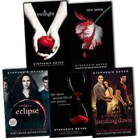 Stephenie Meyer Twilight Saga Collection 5 Books Set New
