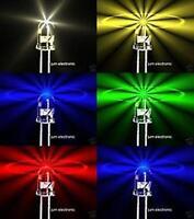 LED Sortiment für dezente Beleuchtung  10 Stück je Einheit / Farben wählbar/ 5mm