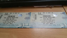 Here and now 10th anniversary show unused concert ticket 2011