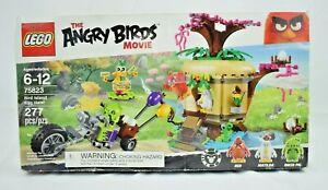 LEGO - The Angry Birds Movie - Bird Island #75823 - 277 Pieces Building Set