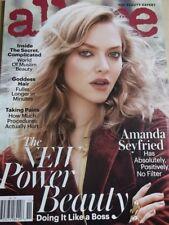 november 2016 Allure Amanda Seyfried sexy cover + CHLOE GRACE MORETZ