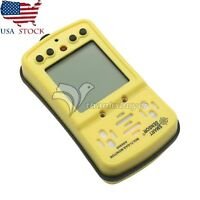 4 in 1 AS8900 Gas Monitor Detector CO O2 H2S Oxygen Gas Analyzer Meter US