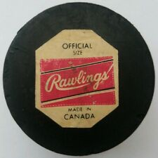 1970s LOS ANGELES KINGS RAWLINGS STAMPED MADE IN CANADA LA OFFICIAL SIZE PUCK