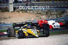 Philippe Streiff Renault RE50 Portugal Grand Prix 1984 Photograph