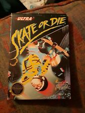 Skate or Die (1988) nes with box and extras