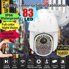 1080P HD WIFI IP Home Outdoor Security Camera CCTV IR Night Vision Waterproof UK