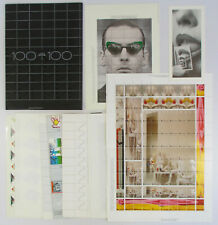 1987 Groninger Museum Stamp Exhibition Portfolio 100 VEL VAN 100 Stamp Sheets