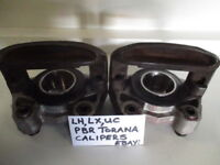 HOLDEN TORANA LH LX UC PBR FRONT DISC BRAKE CALIPERS RECONDITIONED NEW PISTONS