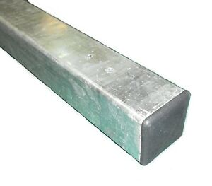 Metal POST Flat Top 50x50x1400mm Concrete-in Hot Dip Galvanised MMTPP